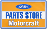 Ford Parts Store Motorcraft Tin Sign