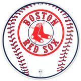 Boston Red Sox Baseball Logo Round