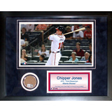 Chipper Jones Mini Dirt Collage