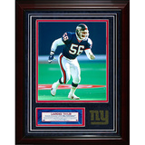 Lawrence Taylor Turf Collage w/ Photograph