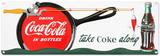 Coca Cola - Coke Fishing Sign