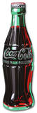 Coca Cola Coke Bottle Tin Sign