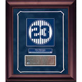Don Mattingly Retired Number Monument Park Brick Slice Collage w/ Nameplate