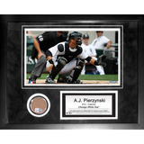 A.J. Pierzynski Mini Dirt Collage