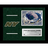 Jets Meadowlands Arial Overhead Turf Collage