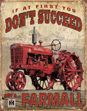 Farmall - Succeed Tin Sign