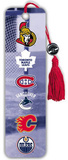 NHL Canada Logos Beaded Bookmark