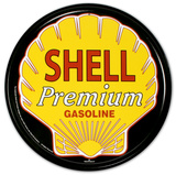 Shell Premium Gasoline Logo Tin Sign
