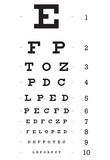 Buy Eye Chart 10-Line Reference Poster at AllPosters.com