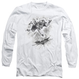 Long Sleeve: The Dark Knight Rises - Penciled Knight