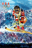 U.S. Olympic Ski Jumper