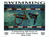 Swimming Celebrating 100 Years U.S. Olympic Team