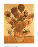 Buy Vase with Fifteen Sunflowers at AllPosters.com