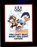 Looney Tunes Olympics Roadrunner & Coyote