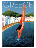 Greece 2004 U.S. Olympic Diver