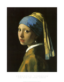 Girl with Pearl Earring Art Print