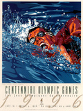 Centennial Olympic Games Swimming Atlanta, c.1996