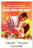 Gone with the Wind Movie Rhett Butler and Scarlett O'Hara Embrace Magnet Magnet