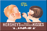 Hershey's Chocolate Kisses A Kiss for Your Magnet