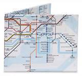 The Underground London Tyvek Mighty Wallet