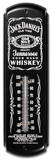 Jack Daniels Whiskey Indoor/Outdoor Weather Thermometer Tin Sign