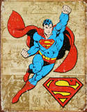 Superman Weathered Panels
