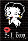 Buy Betty Boop Blowing Kiss Magnet at AllPosters.com