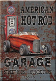 American Hot Rod Garage  Magnet