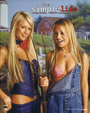 Simple Life (Nicole & Paris w/ Pitchfork) TV Poster Print