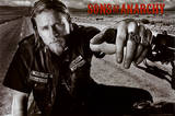 Sons of Anarchy Jackson TV Poster Print Sons of Anarchy - Cut Sons of Anarchy Sons of Anarchy Vintage Huge TV Poster Sons of Anarchy Samcro TV Poster Print Sons of Anarchy - Jax Skull Sons of Anarchy - Bike Circle Sons of Anarchy - Jax Back