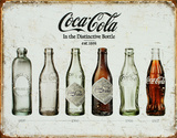 Coca Cola Bottle Evolution,