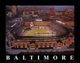 Baltimore Orioles Camden Yards First Night Game April 8, c.1992 Sports