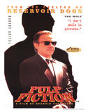Pulp Fiction Movie (Harvey Keitel, The Wolf) Poster Print