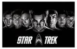 Star Trek Movie (Group) Poster Print