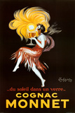 Leonetto Cappiello Cognac Monnet Vintage Ad Art Print Poster