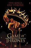 Game of Thrones Crown Five Kings One Throne TV Poster Print
