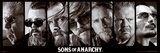 Sons of Anarchy Reaper Crew TV Poster Print