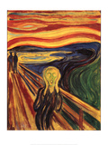 Edvard Munch The Scream Art Print Poster