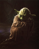 Star Wars Movie Yoda Glossy Photo Photograph Print
