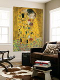 Gustav Klimt The Kiss Der Kuss Mini Mural Huge Poster Art Print