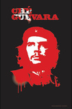 Che Guevara (Spray Paint) Blacklight Art Poster Print