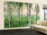 Buy Nordic Forest Huge Wall Mural Art Print Poster at AllPosters.com