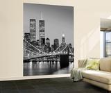 Henri Silberman Brooklyn Bridge New York City Huge Wall Mural Art Print Poster