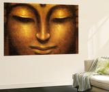 Siddhartha Buddha Mini Mural Huge Poster Art Print