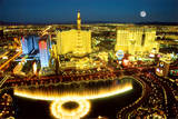 Las Vegas Aerial Photo Art Print Poster Poster