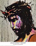 David Garibaldi Jesus Christ Savior Art Print Poster