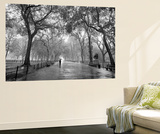 New York City Poet's Walk Central Park by Henri Silberman Mini Mural Huge Poster Art Print