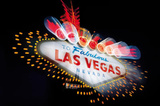 Welcome to Fabulous Las Vegas (Neon Sign) Art Poster Print