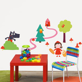 Isabelle Jacque Little Red Riding Hood Wall Stickers