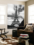 La Tour Eiffel Tower Paris by Henri Silberman Mini Mural Huge Poster Art Print